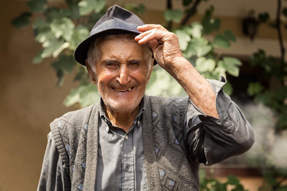 Grandfather Traian Portrait