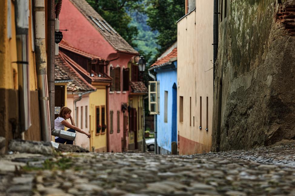Sighisoara Street Life