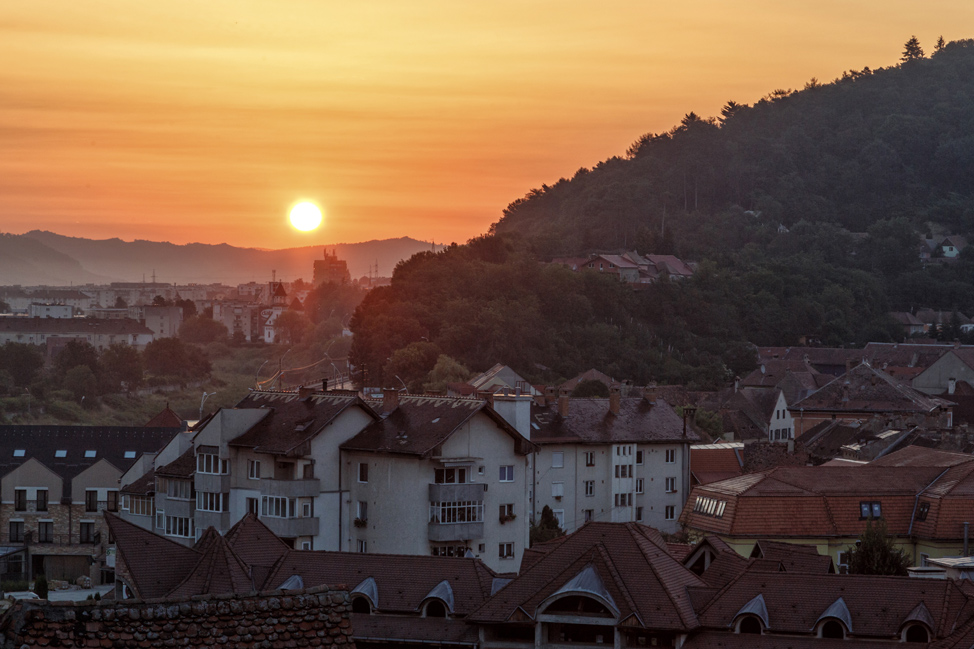 Sunrise in Sighisoara