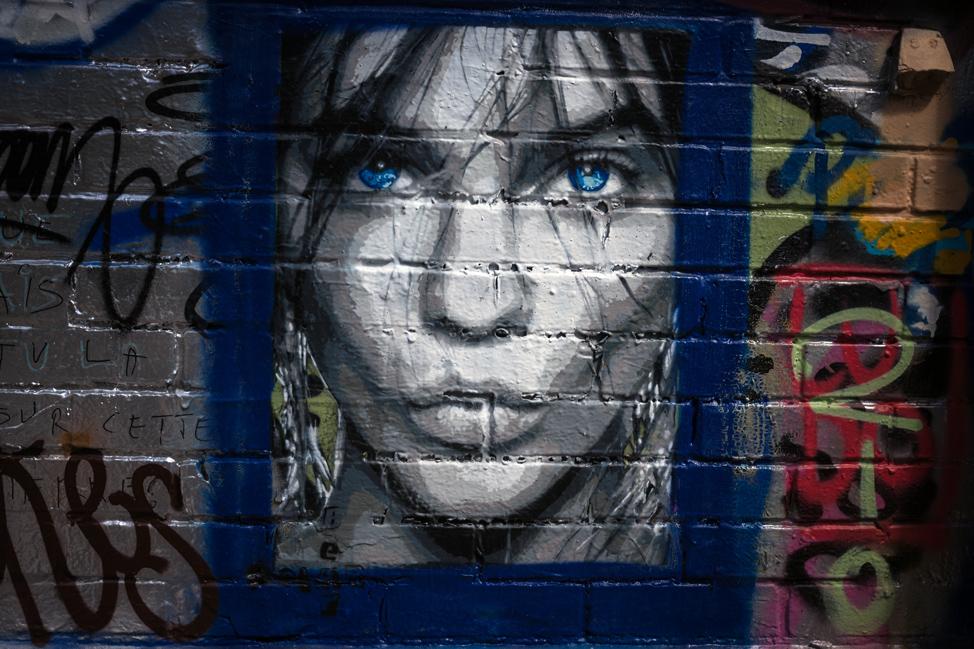 Bleu Street Art