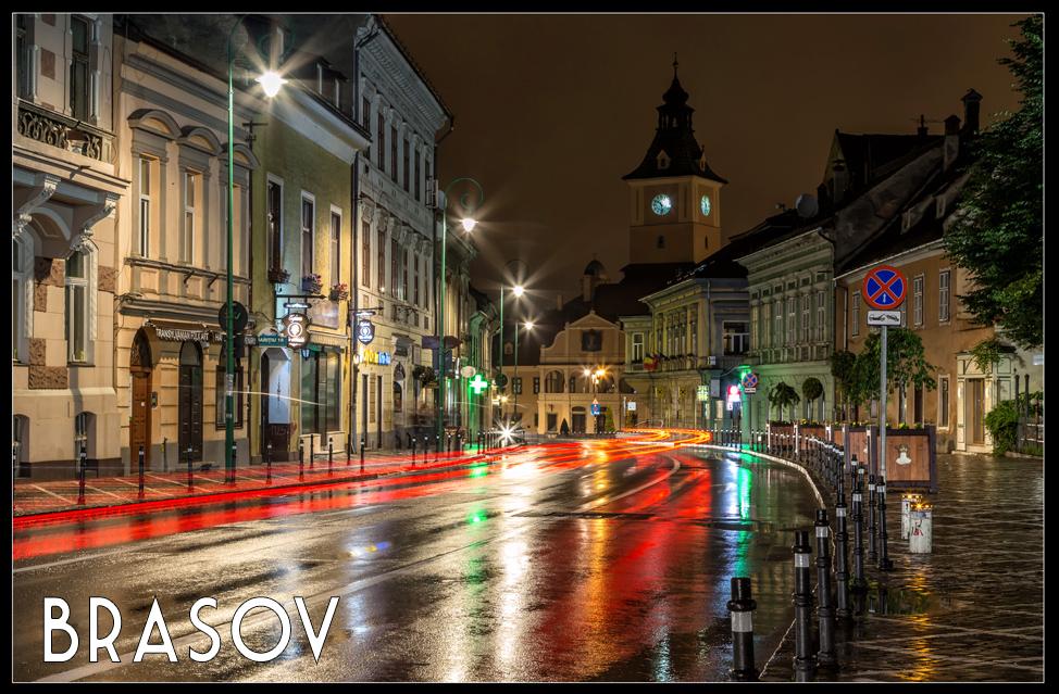 Night in Brasov