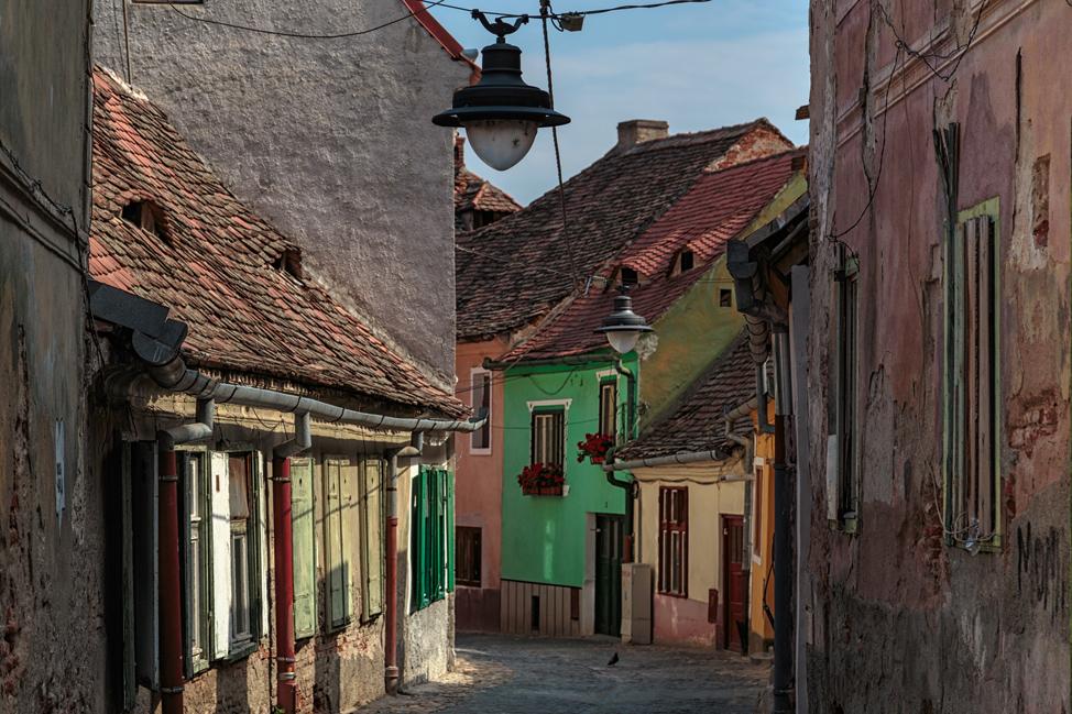 Sibiu Side Streets