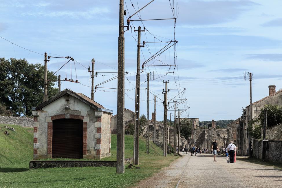 Oradour Train Station