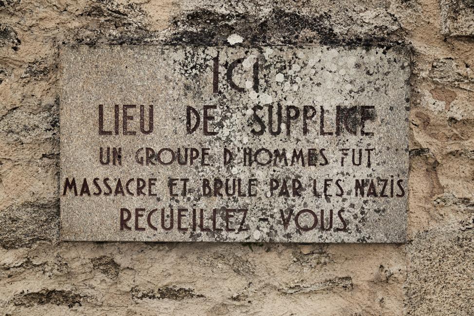 Oradour Sign