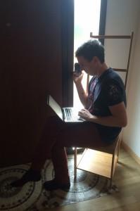 Pete Finding Wifi