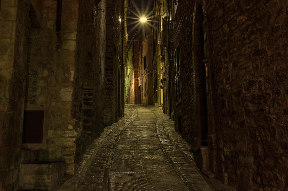Spello at Night