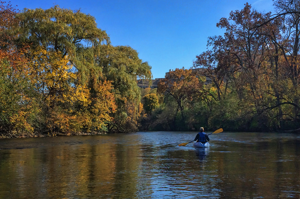 Kayaking Ann Arbor