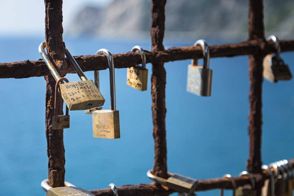 Love Locks Cinque Terre