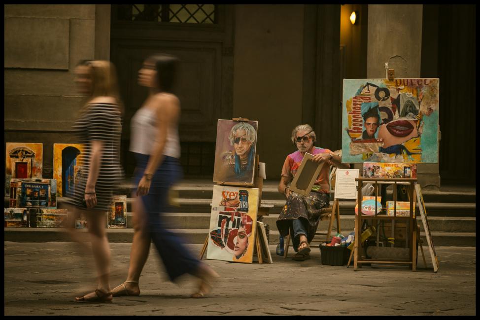 Italy-Postcards-Firenze-Uffizi