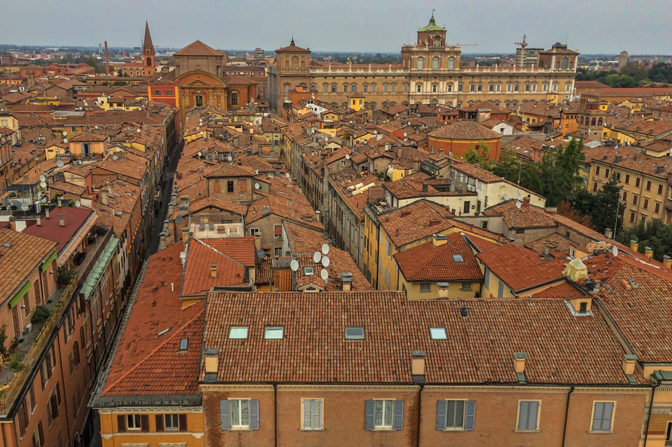Modena from Above