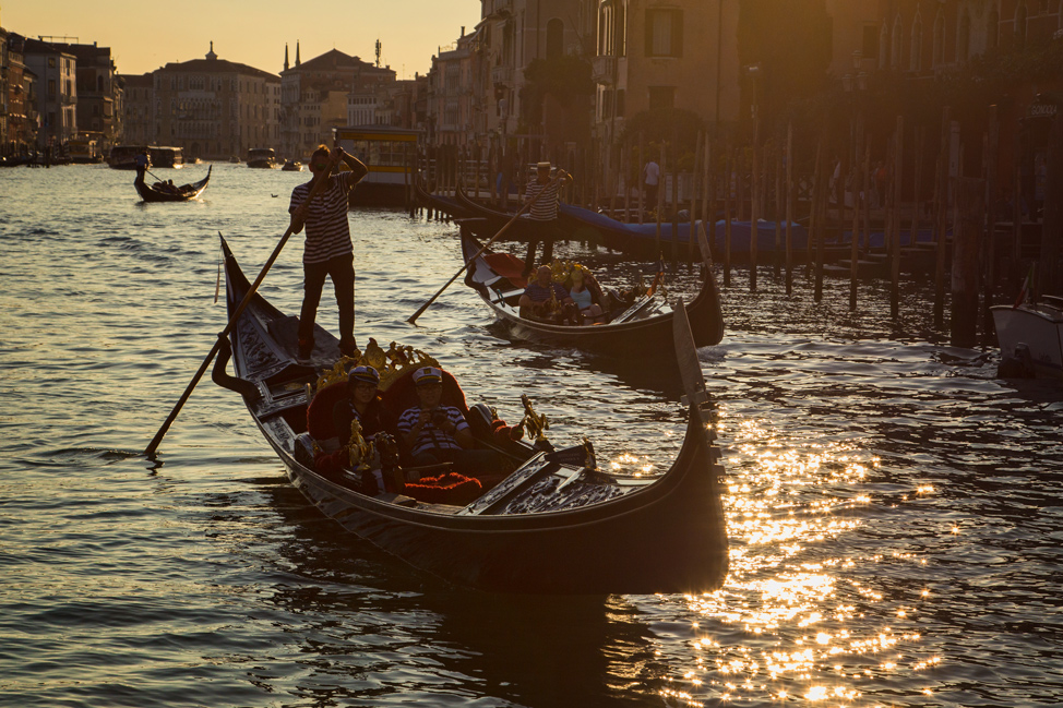 Sunset on a Gondola