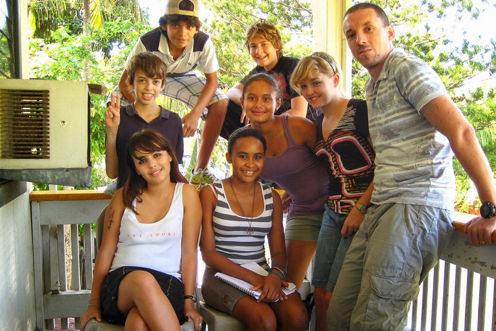 Pete's Class in Roatán