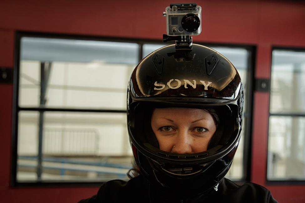 Calgary Olympic Park Bobseld Helmet Cam