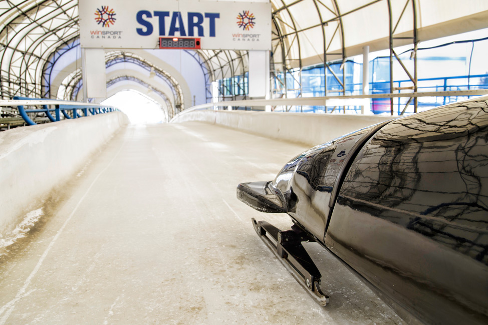 Calgary-Olympic-Park-Bobsled-Start