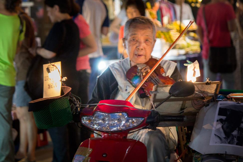 Violin Man Chiang Mai