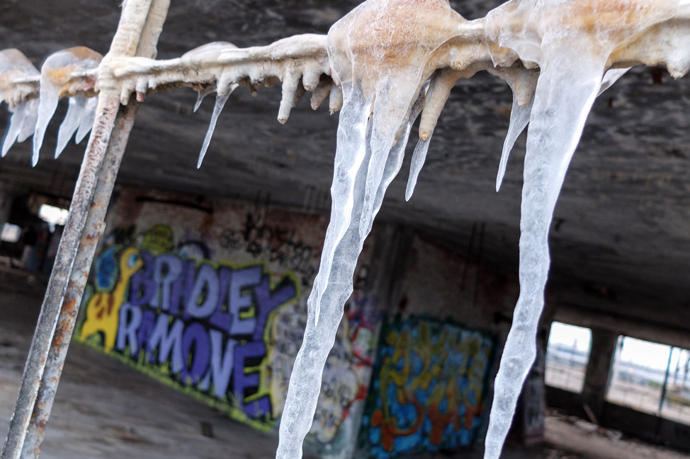 Abandoned Icicles