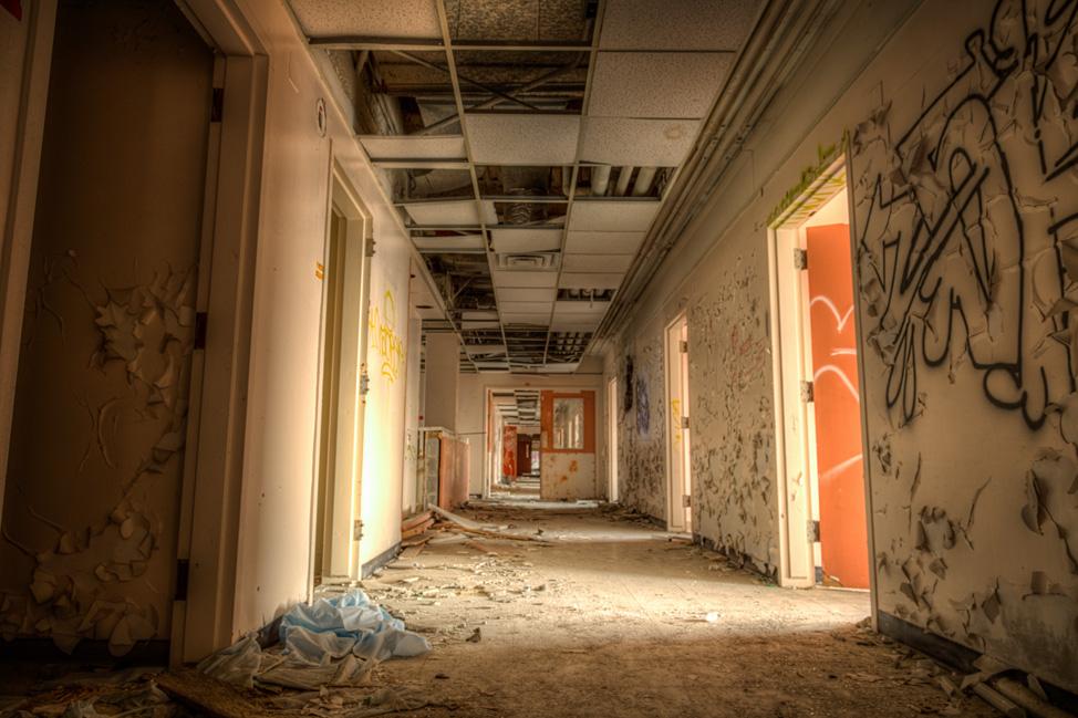 South Western General Hallway