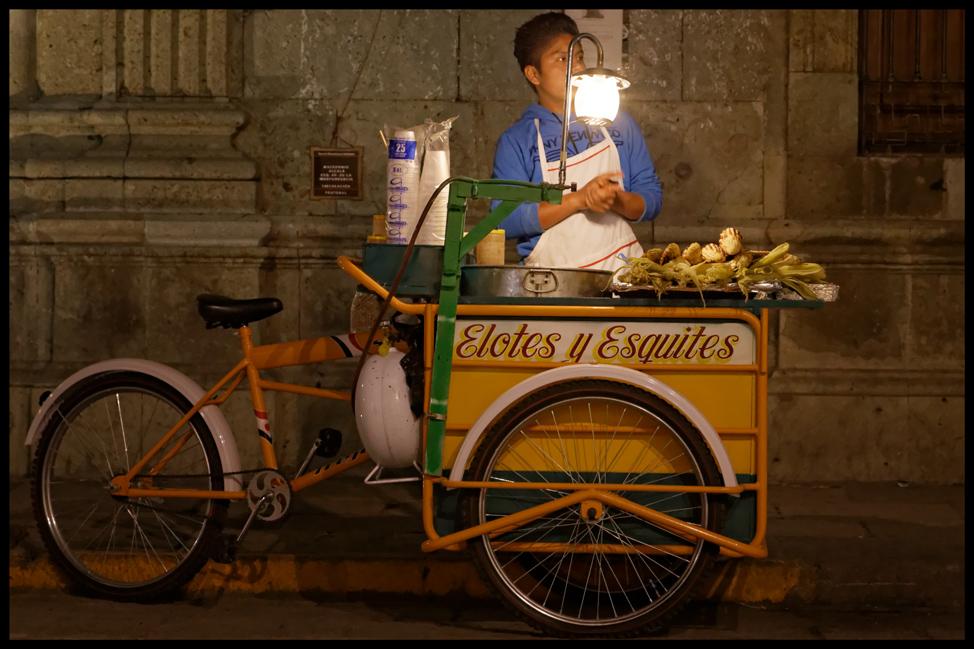 Oaxaca-Elotes-Postcard