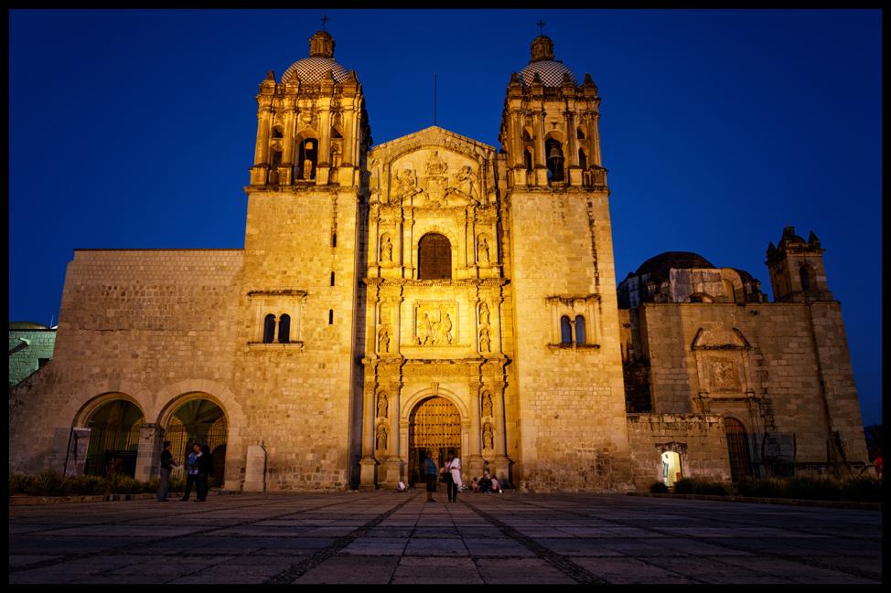 Oaxaca-Santo-Domingo-Postcard
