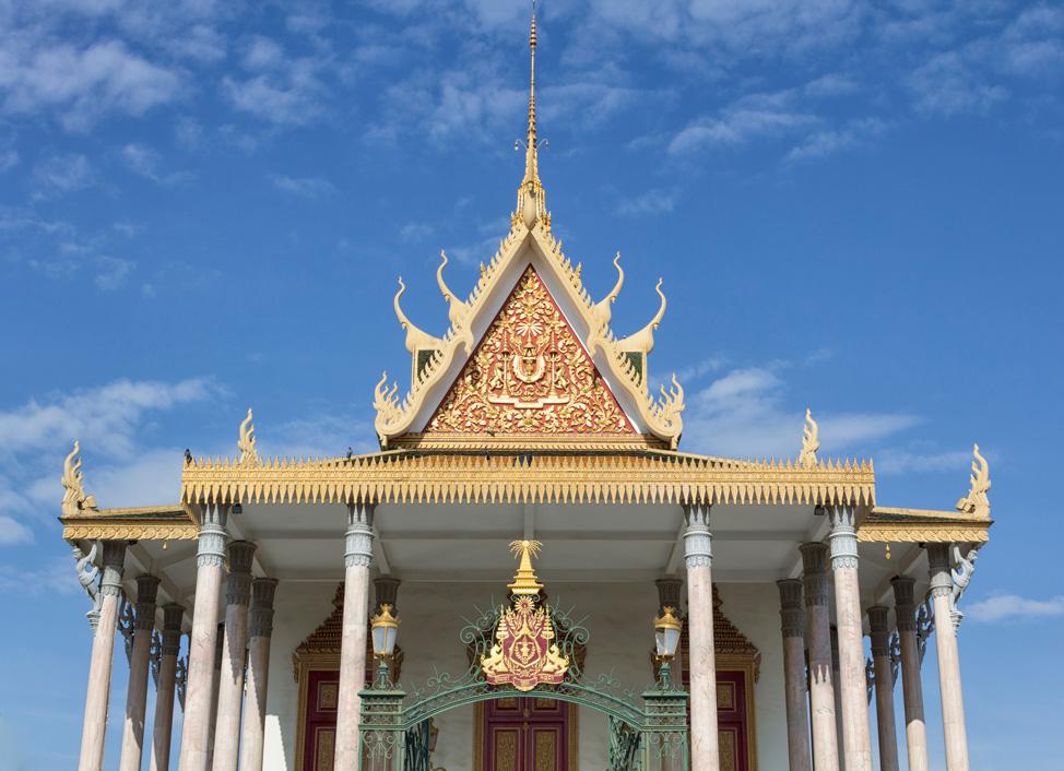 Royal Palace Phnom Penh Cambodia 2