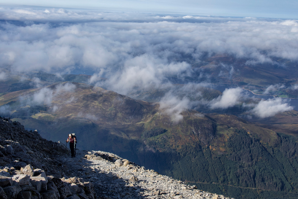 Near Summit Ben Nevis
