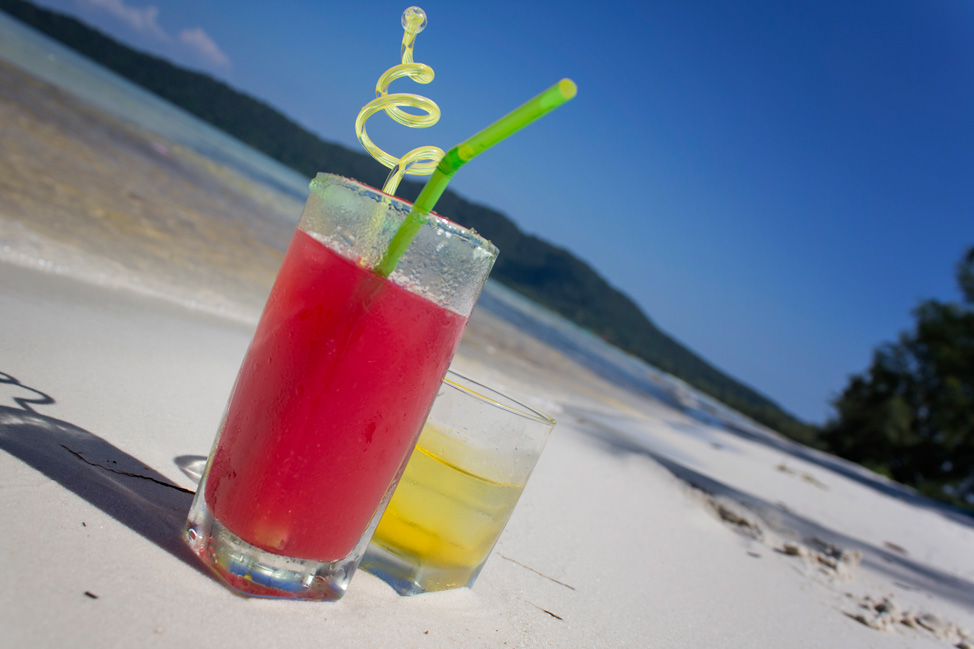 Drinks on Koh Rong