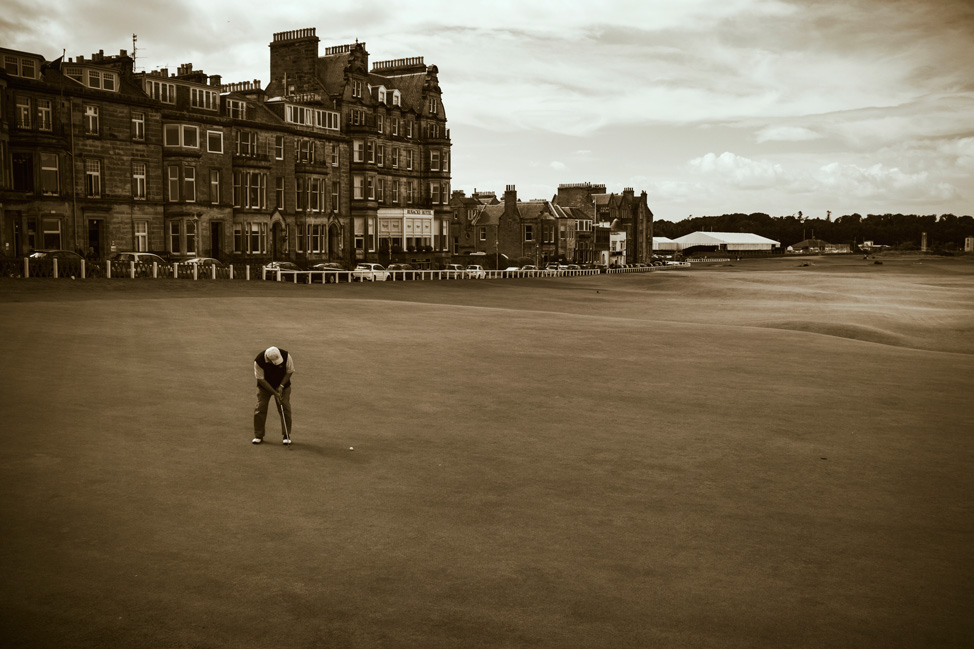 St Andrews 18th Green