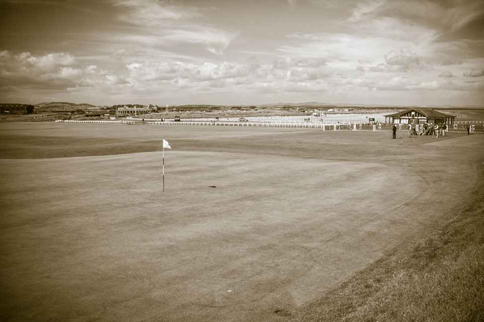 St Andrews Old Course View