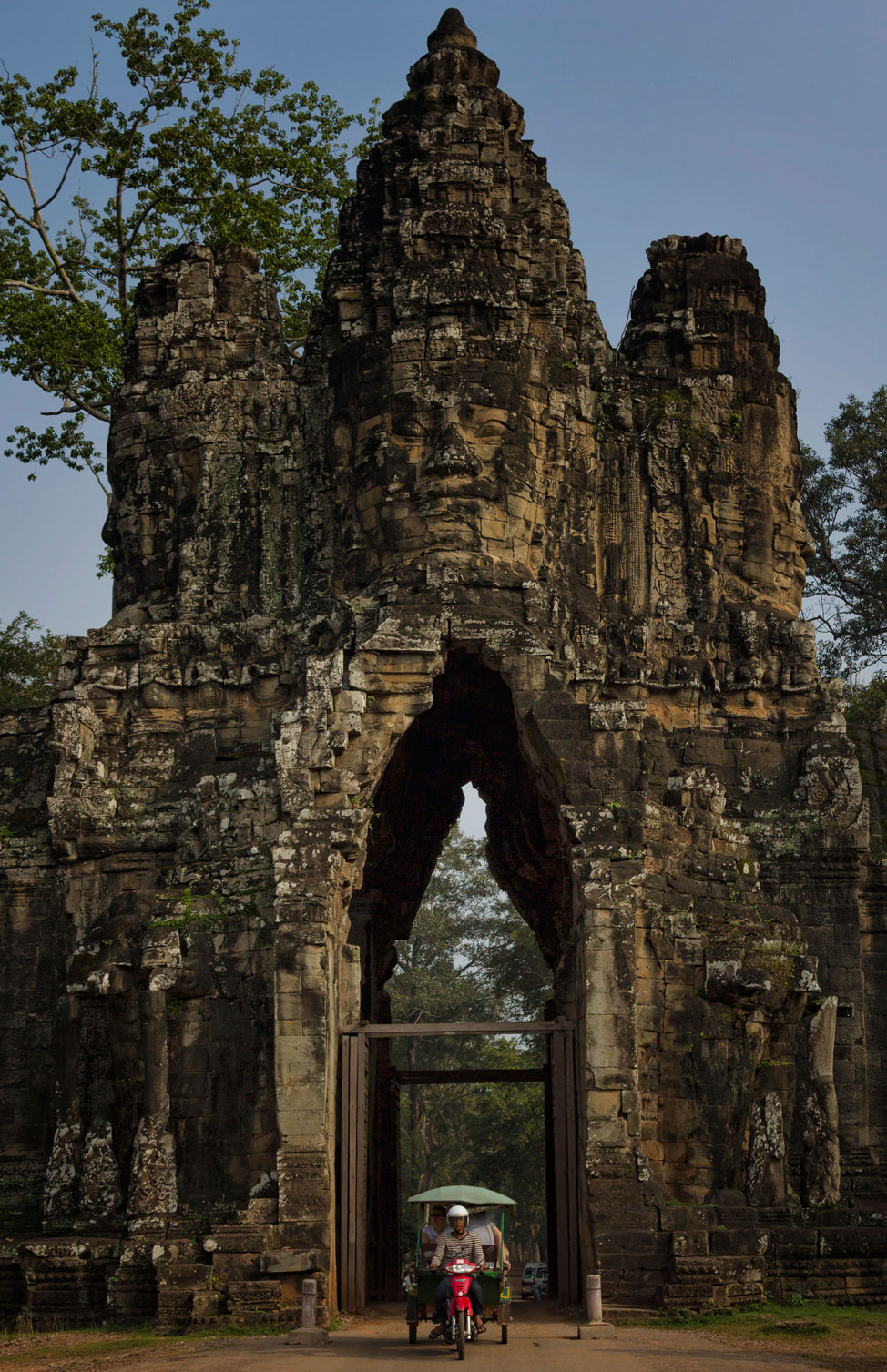 The South Gate into Angkor Thom