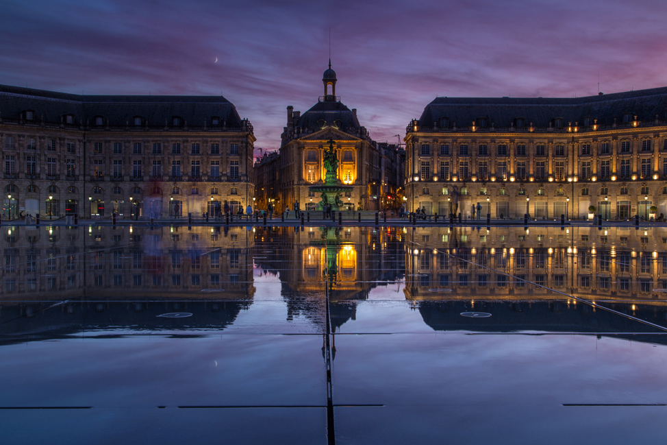 2014 in photos hecktic travels for Mirror pool bordeaux