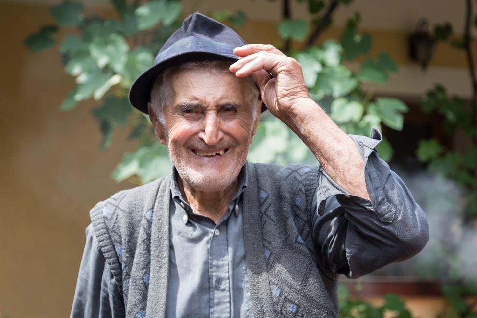 Romania Grandfather