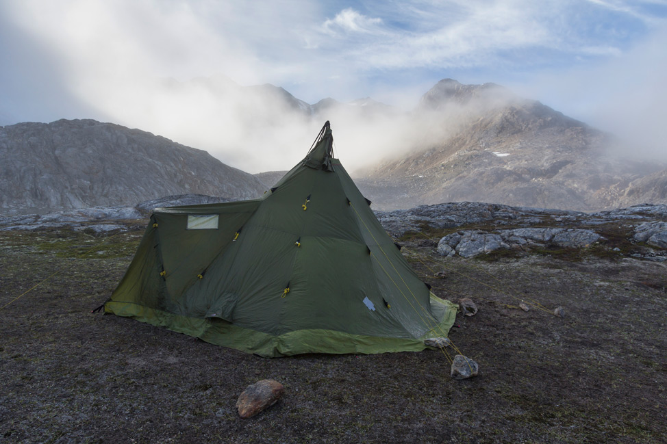 Greenland Kayak Trip - Meal Tent