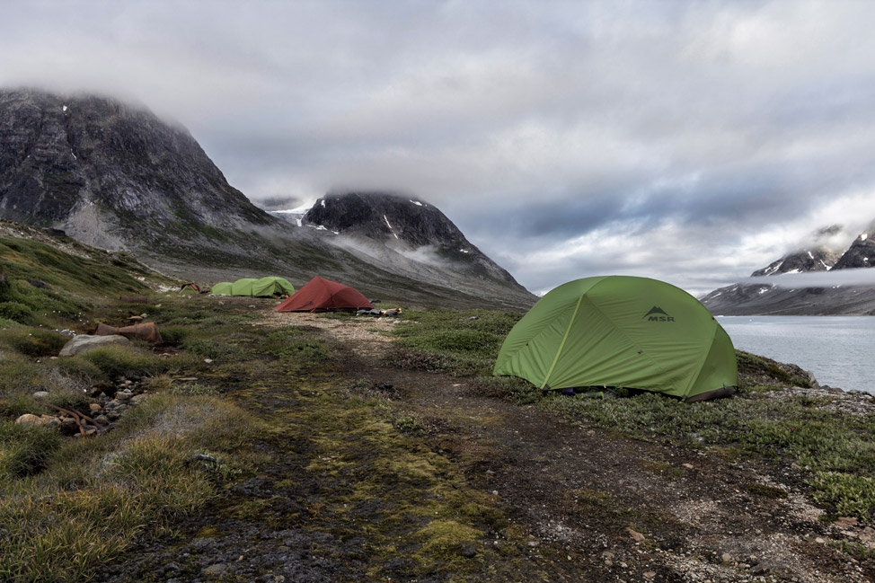 Greenland Tours Camp at Ikateq