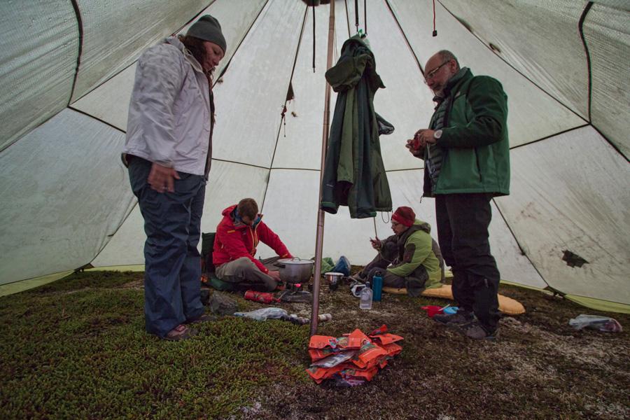 Supper Tent