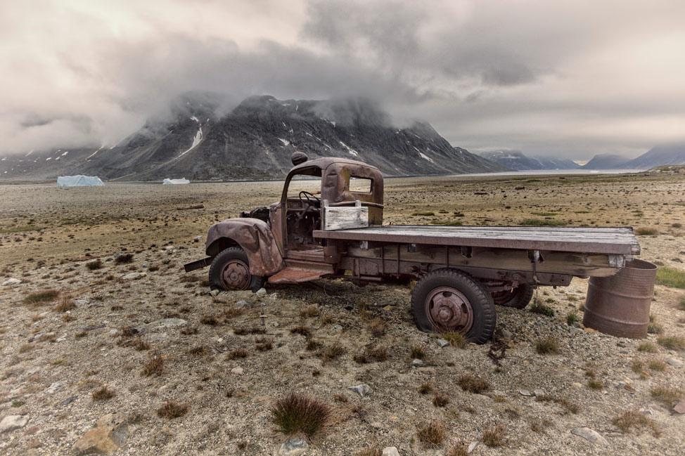 Ikateq Greenland Abandoned Truck