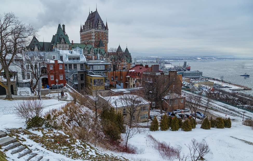 Winter Chateau Frontenac