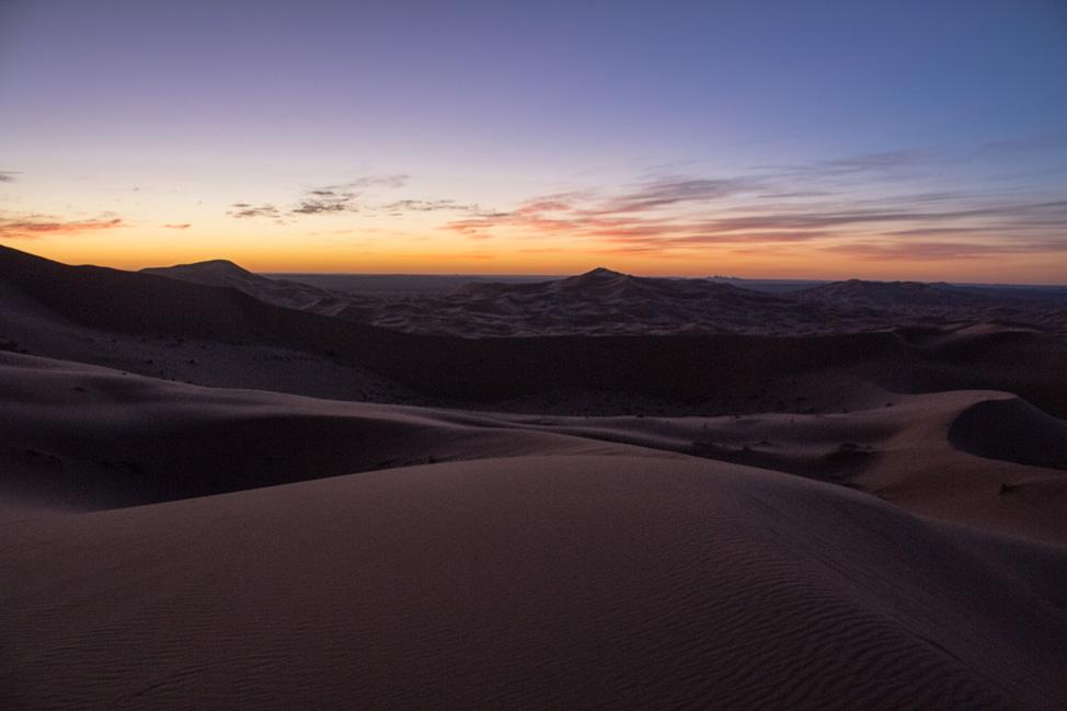 Sahara Pre Sunrise