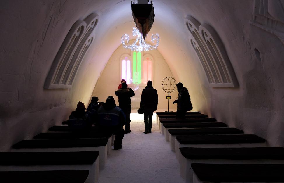 Kemi Snow Castle Chapel