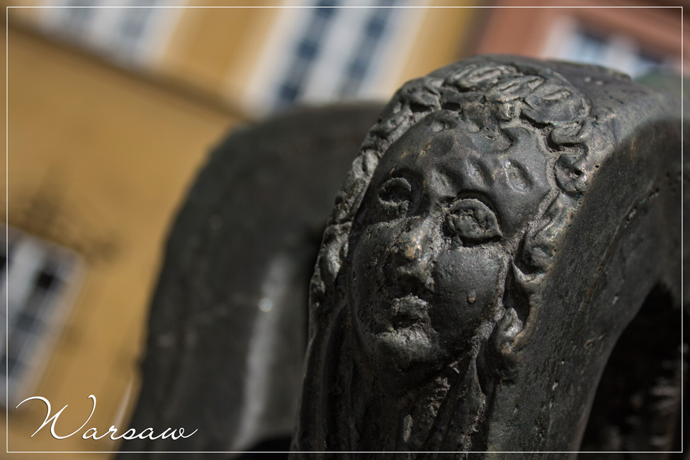 Warsaw Poland Statue