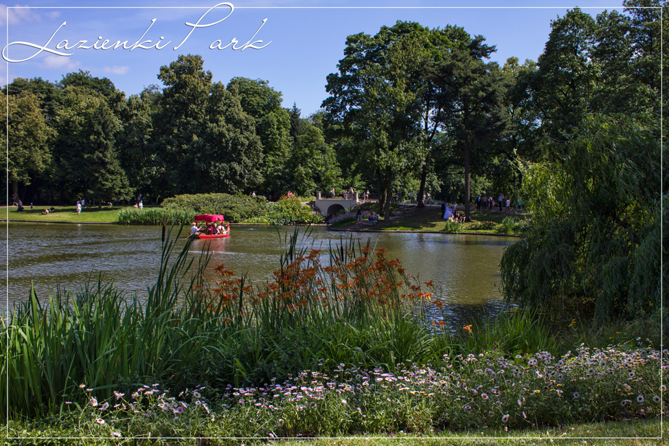 Lazienki Park Poland