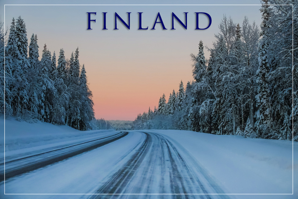 Finland Winter Roads