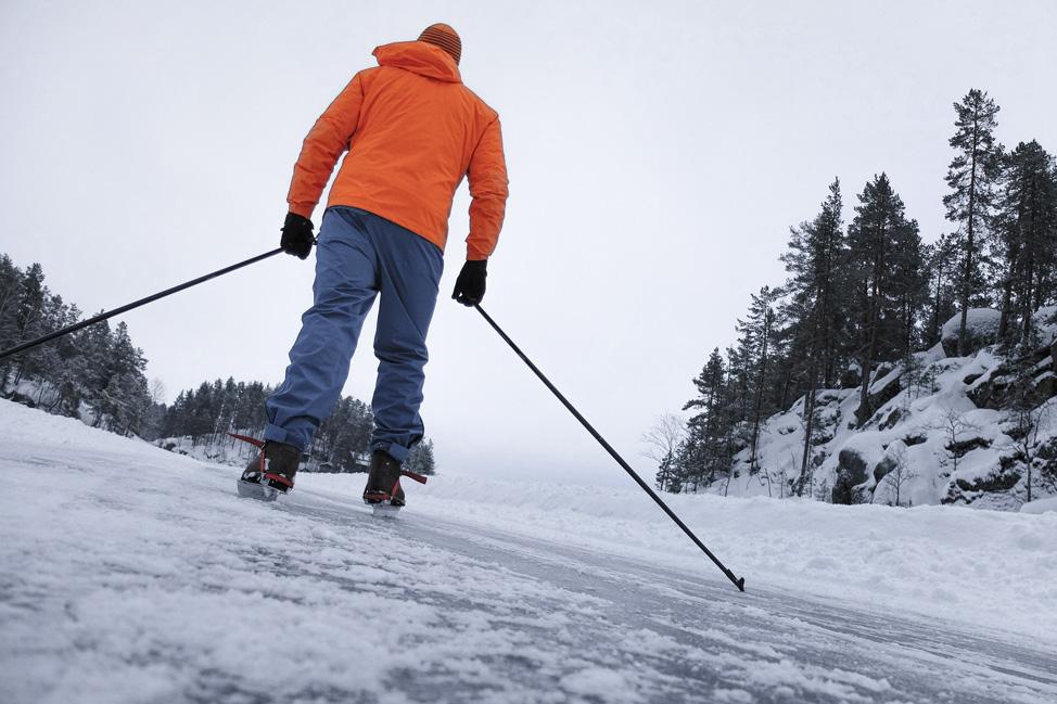 Jarvisydan Nordic Skating
