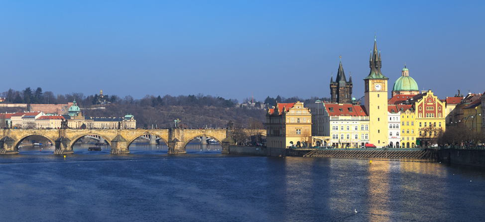 Vlatava River Prague