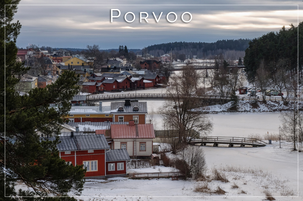 Porvoo from Above