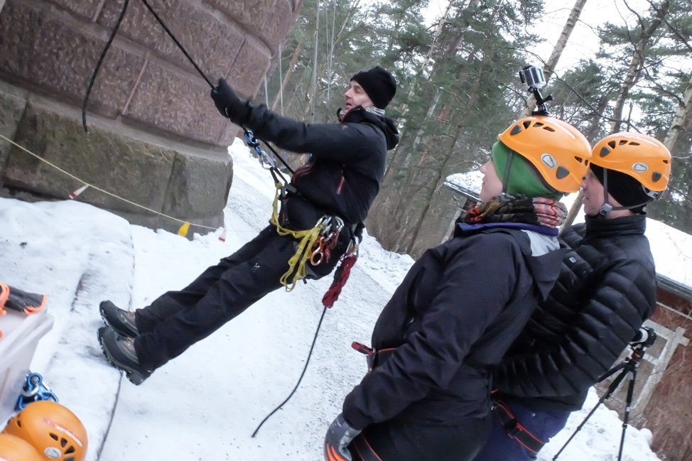 Repelling Instruction