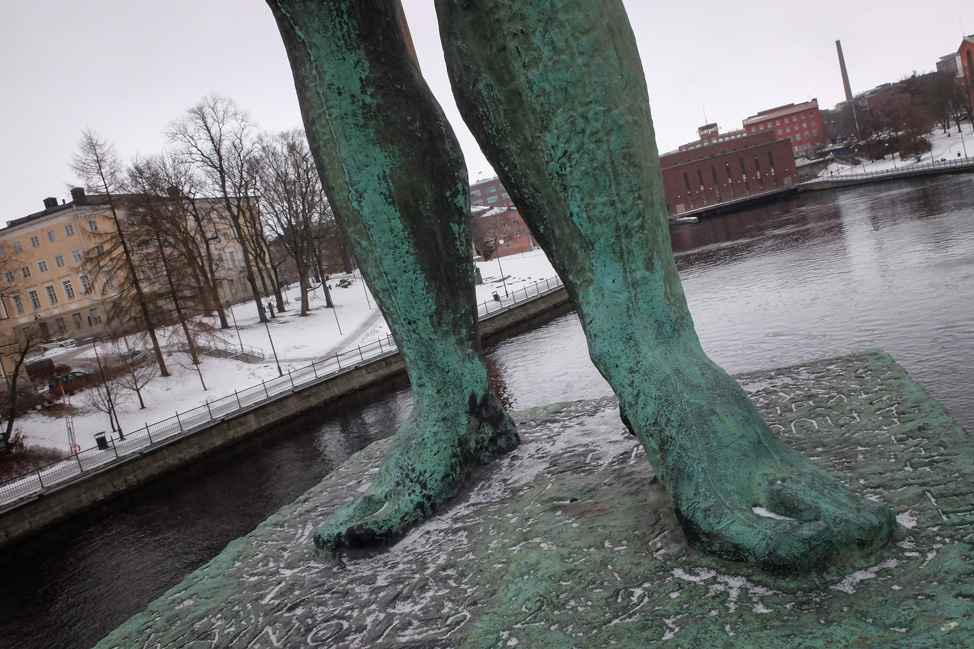 Feet in Tampere