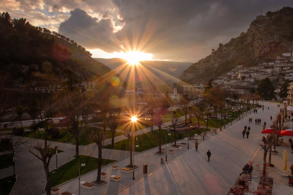 Berat Sunset