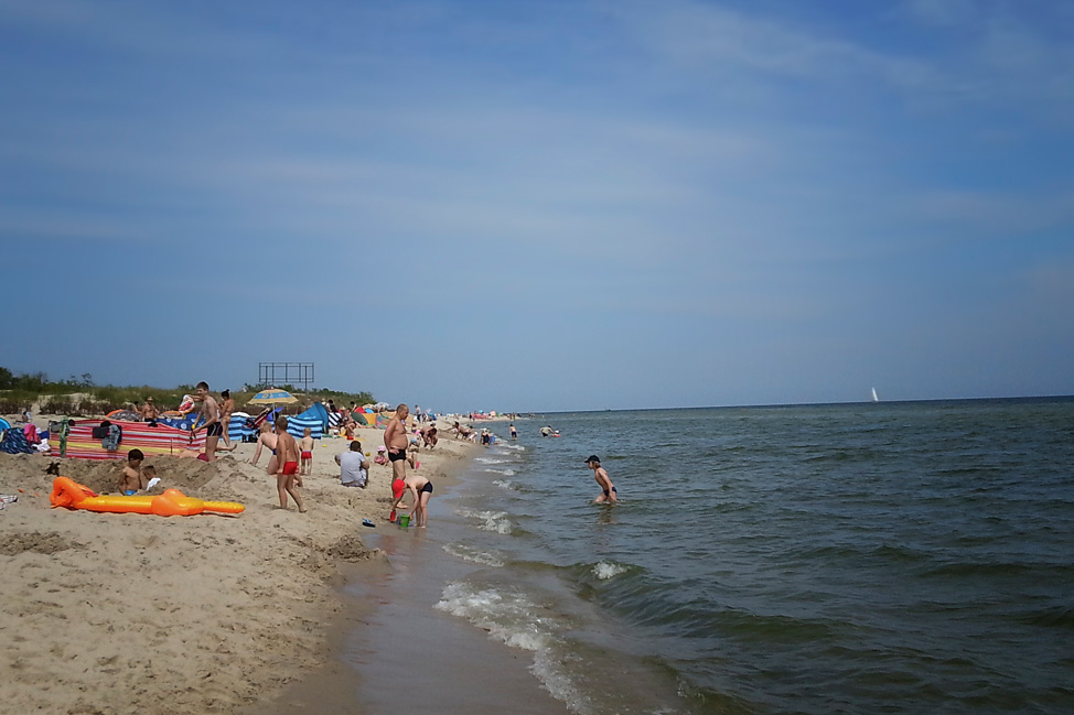 Beach Hel Poland