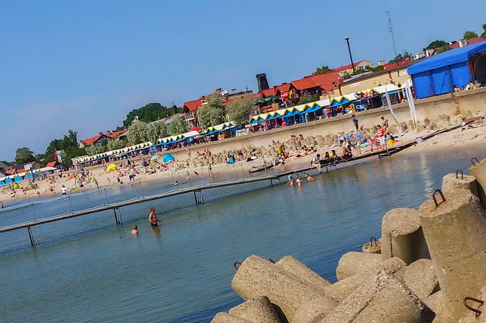 Port Beach Hel Poland