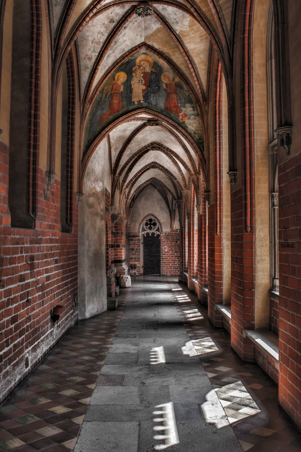 Portico in Malbork Castle